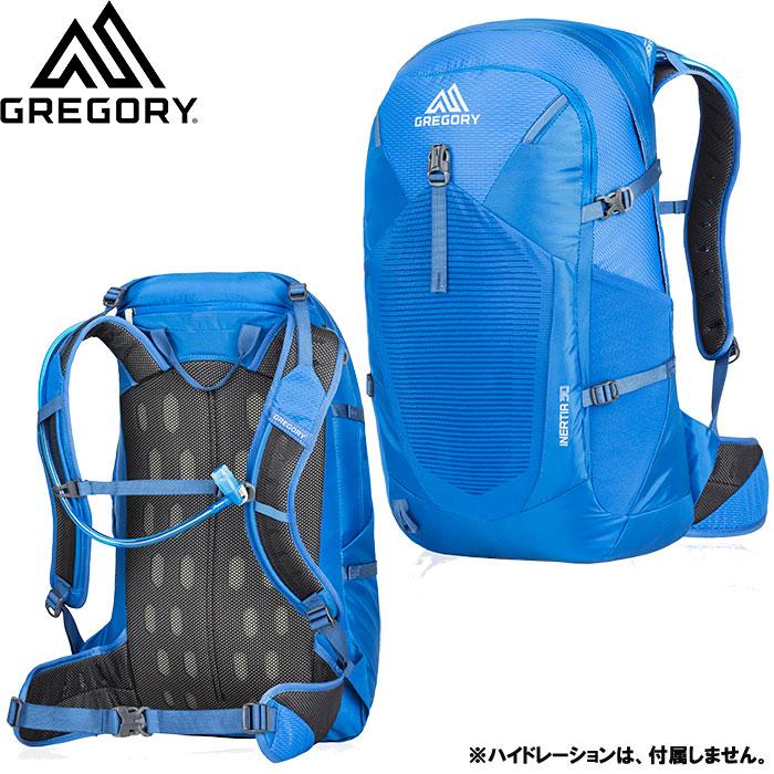 gregory グレゴリー INERTIA 30 イナーティア 30 特価 30%OFF 登山 アルパイン ザック デイパック (ESTATE-BLUE) [pt0]:INERTIA30 [特価 pack]