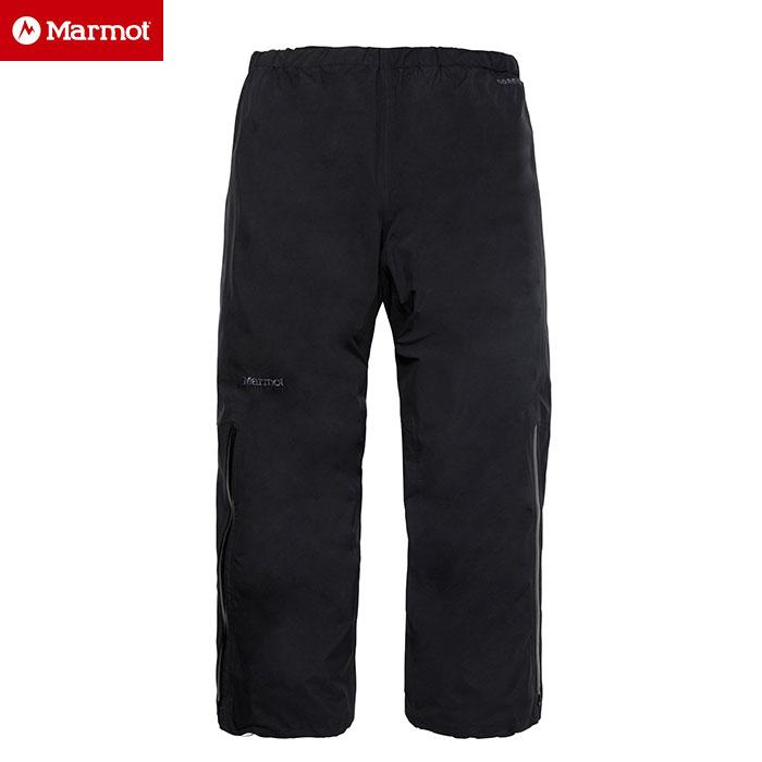 Marmot マーモット Comodo Pant 〔 雨具 レイン 2017SS 〕 (BLK):MJR-S7010P [56-RAIN¥] [特価マーモット]