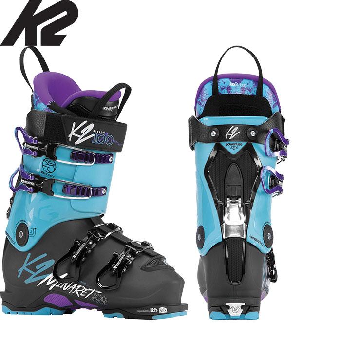 K2 ケーツー 18-19 MINARET 100 LV ミナレット100 LV 〔女性用 ウォークモード付 スキーブーツ バックカントリー 2019:minaret100lv
