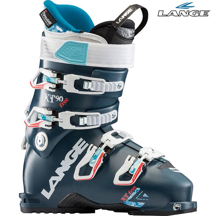 18-19 LANGE ラング XT FREE 90 W 〔2019 スキーブーツ ウォークモード付 女性用〕 (Petrol):LBH7320
