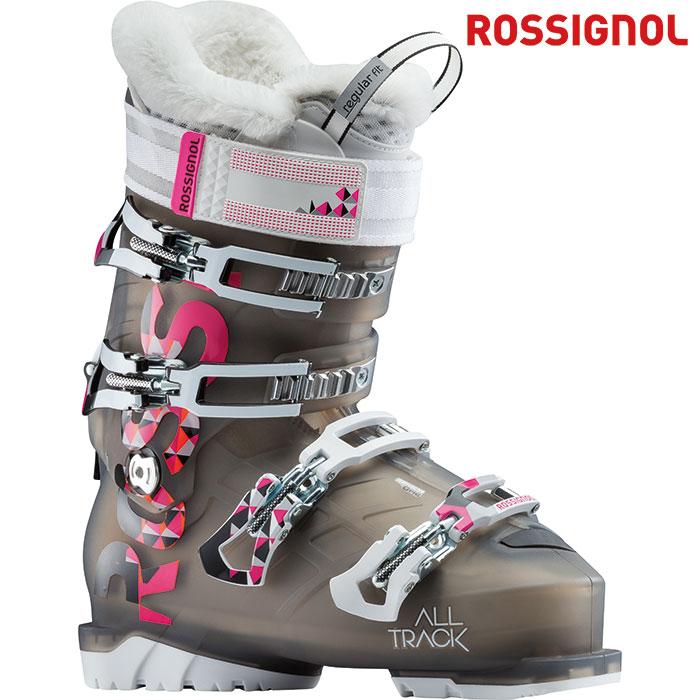 ROSSIGNOL ロシニョール 18-19 ALLTRACK70W オールトラック70W 〔2019 スキーブーツ ウォークモード付 女性用〕 (LIGHTBLACK):RBG3350-H