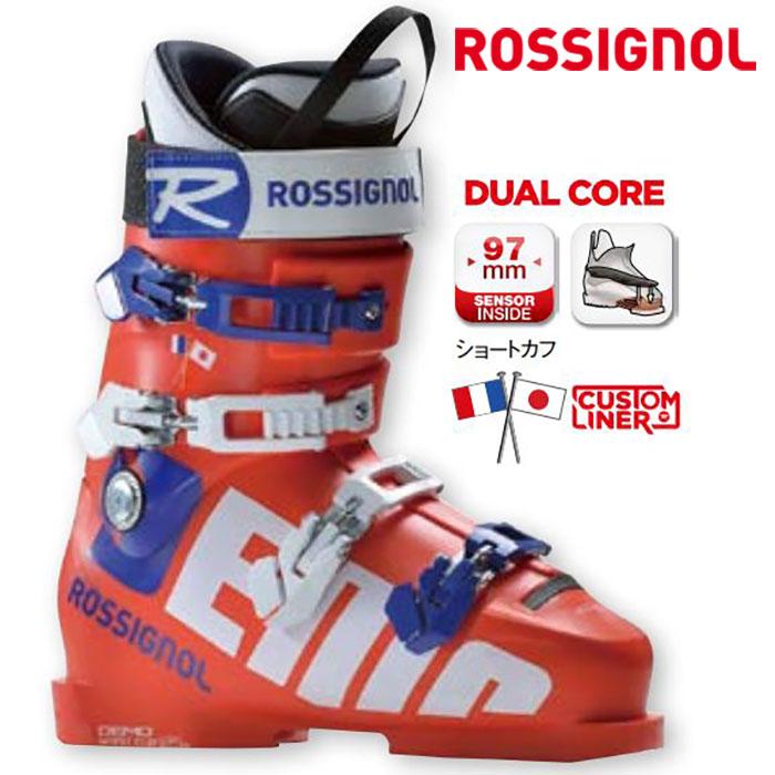 ROSSIGNOL ロシニョール 18-19 DEMO125SC デモ125SC 〔2019 スキーブーツ 基礎スキー〕 (RED):RBH1600