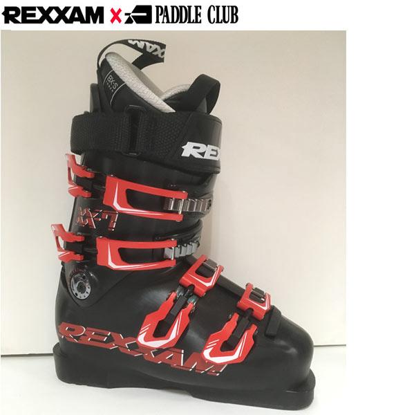 18-19 REXXAM レクザム スキーブーツ XX-7 クロス7〔2019 モーグル フリースタイル フリーライドモデル 〕 (BLACK):X2JS-299P [outlet boot] 「0604BOOT」