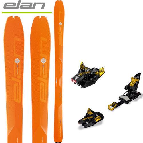 [送料無料] エラン ELAN 18-19 スキー ski 2019 IBEX 94 Carbon + MARKER キングピン 10 [金具付き2点セット] バックカントリー