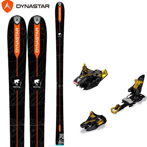 DYNASTAR ディナスター 17-18 スキー ski 2018 VERTICAL BEAR + MARKER キングピン 10 [金具付き2点セット] バックカントリー