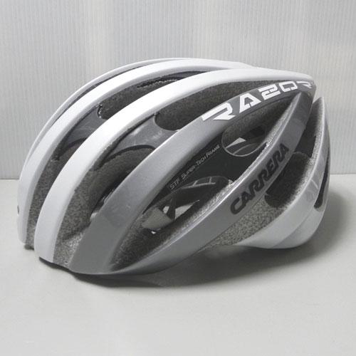 CARRERA カレラ ヘルメット RAZOR 自転車 インラインスケート向けヘルメット/White-Grey-Shiny ] [50_off] [SP_SKI_ACC] [特価hel_go]