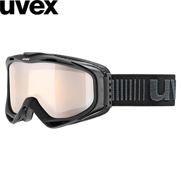 クーポン利用で10%OFF 8/9まで uvex ウベックス 18-19 g.gl 300 VLM ゴーグル (ブラックマット):550217