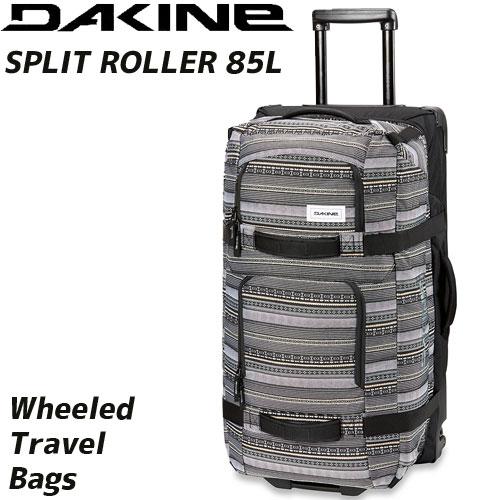 DAKINE ダカイン SPLIT ROLLER 85L カラー:ZIN ホイールバッグ ローラーバッグ 旅行 遠征 :AI237-132 「0604ACC」