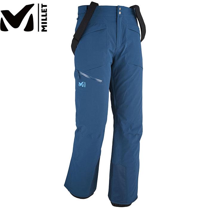 MILLET ミレー JP ATAMMIK STRETCH PANT JP アタミック ストレッチ パン 〔 スキーウェア パンツ 旧モデル 特価 〕 (POSEIDON):MIV7463 [特価 スキーウェア] [特価ミレー]