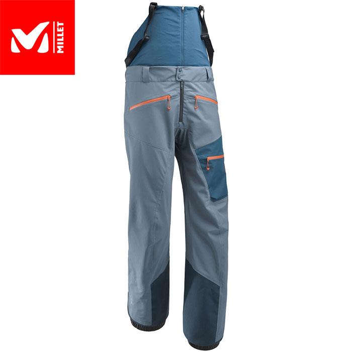 MILLET ミレー Mホワイトネオ3Lパンツ MWHITENEO3LSPT 2018FW スキーウェア パンツ MEN'S (TEALBLUE-POSEIDON):MIV8059 「0604wear」