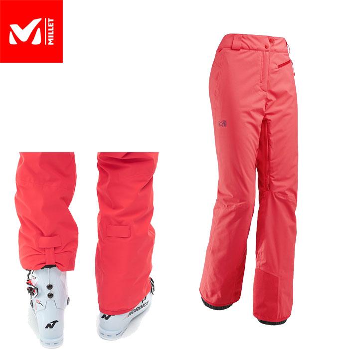 MILLET ミレー JPリスカムストレッチパンツ LDLISKAMMSTRETCHPANT 2018FW スキーウェアパンツ Woman 女性用 (POPPYRED):MIV8132 「0604wear」