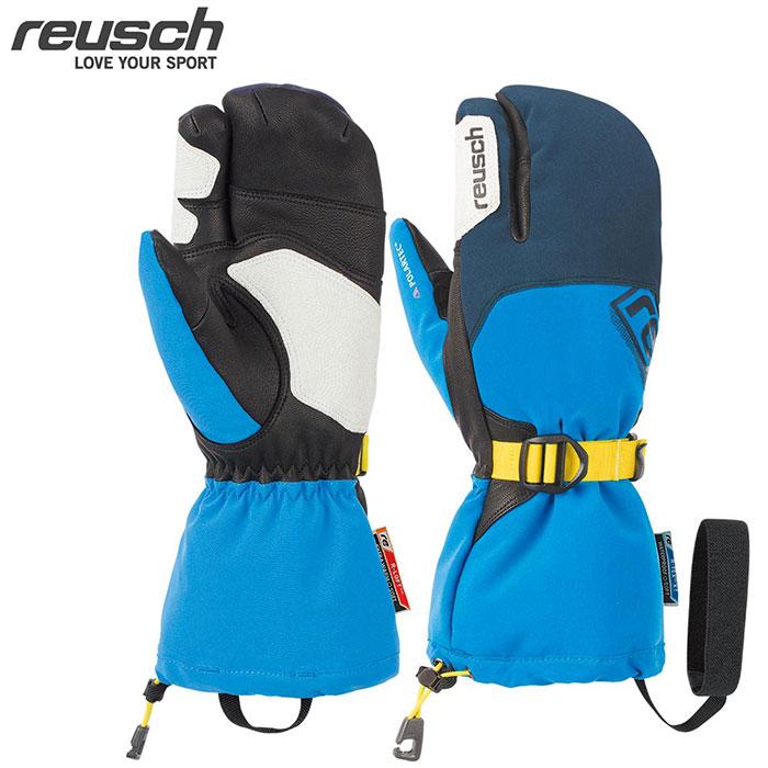 クーポン利用で10%OFF 8/9まで reusch ロイシュ 18-19 REUSCH LECH R-TEX XT LOBSTER スキーグローブ (ドレスブルー):4702