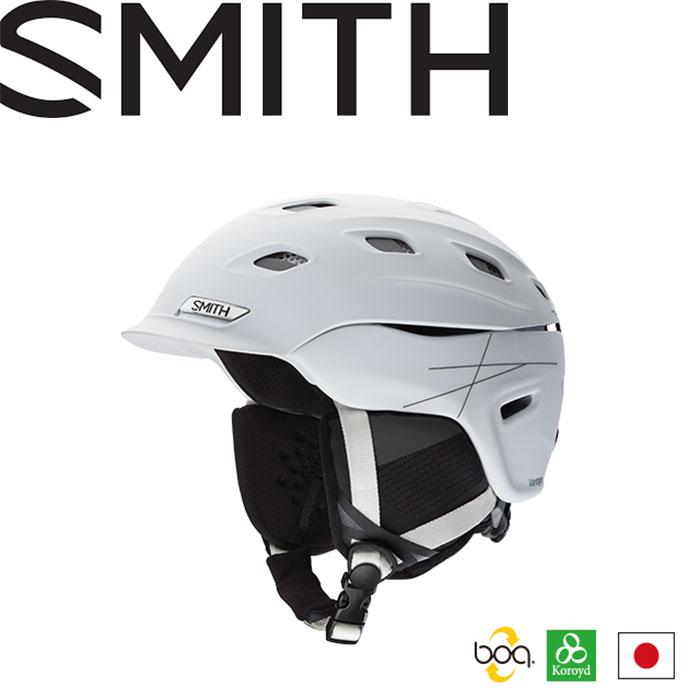 [クーポン利用で10%OFF 18-19!6/4AMまで] SMITH ヘルメット スミス VANTAGE 18-19 VANTAGE ASIAN FIT ヘルメット (MATTE-WHITE):1020737, 北陸水産カネイシ丸:0fcccf2d --- sunward.msk.ru