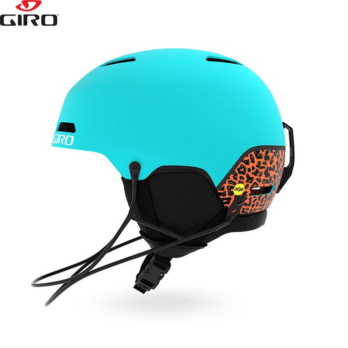 Giro ジロー ヘルメット LEDGE SL MIPS レッジ エスエル ミップス 2018/2019 お買い得 スキー スノーボード (チンバー付属) (MatteGlacier-Cheetah):709600