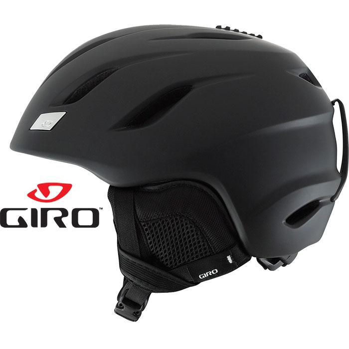 GIRO(ジロ)NINE AsianFit ナイン 〔スキー・スノーボードヘルメット 17/18 〕 (Matte-BLACK): 「0604hel」