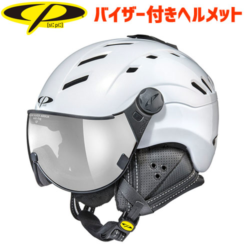 CP シーピー 2019モデル CP CAMURAI カムライ PWS バイザー付き ヘルメット スキー スノーボード (-):CPC1907 「0604hel」