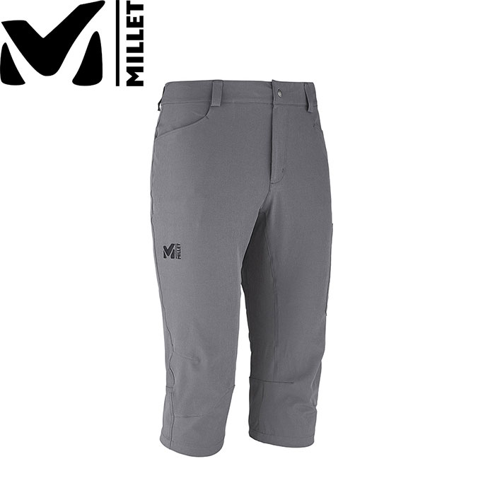 MILLET ミレー WANAKA STRETCH 3/4 PANT 〔Mens 短パン メンズ 2018SS 〕 (TARMAC):MIV7708