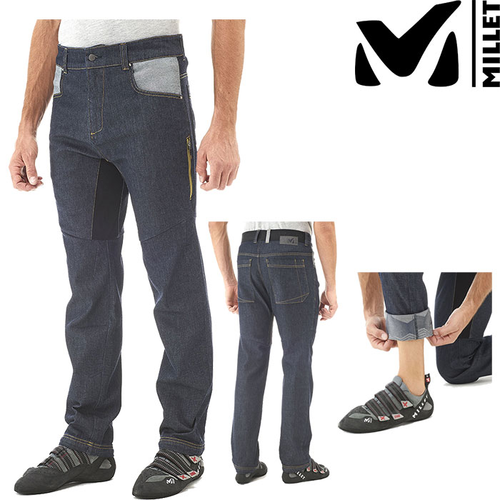 MILLET ミレー ROCAS DENIM PANT 〔Mens PNT メンズ パンツ 2018SS 〕 (Dark Denim):MIV7775 [クリアランスpt0]