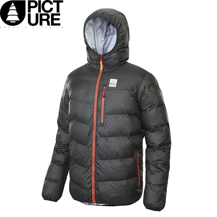 PICTURE ピクチャー 18-19 SCAPE ウェア スキー 2019 ジャケット 中綿 インサレーション Mens (BLACK):SMT003 「0604MSW」