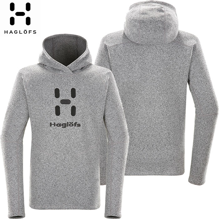 HAGLOFS ホグロフス 18-19 Swook Logo Hood Men 2019 メンズ フリース ジャケット アウトドア (CONCRETE):603729 [特価ホグロフス]