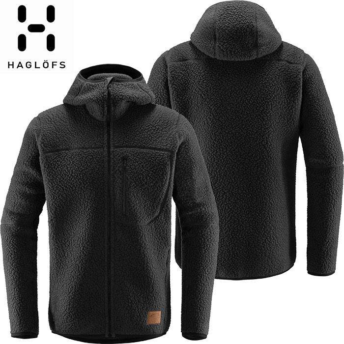 HAGLOFS ホグロフス 18-19 Pile Hood Men 2019 メンズ フリース ジャケット アウトドア (SLATE):604137 [特価ホグロフス]
