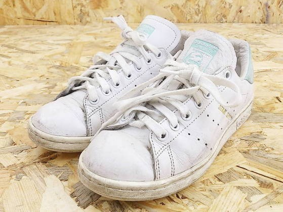 best service 0e7dd 6b5c5 ◇ adidas Adidas STAN SMITH Stan Smith BZ0461 sneakers shoes 23.5 white  light green * ◆ 1000025504674