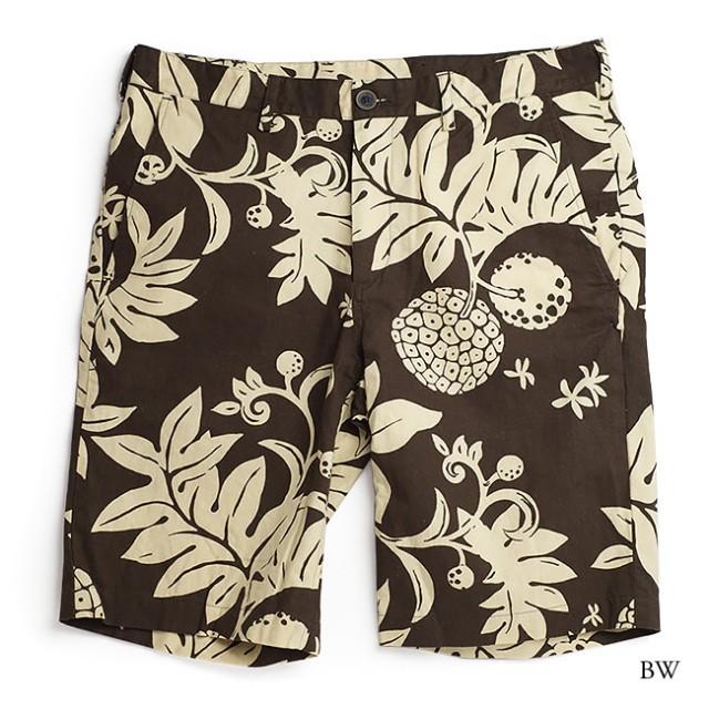 アロハハーフパンツ メンズ(男性用)「太陽の果実」全1色 MLXL 大きいサイズあり ショートパンツ