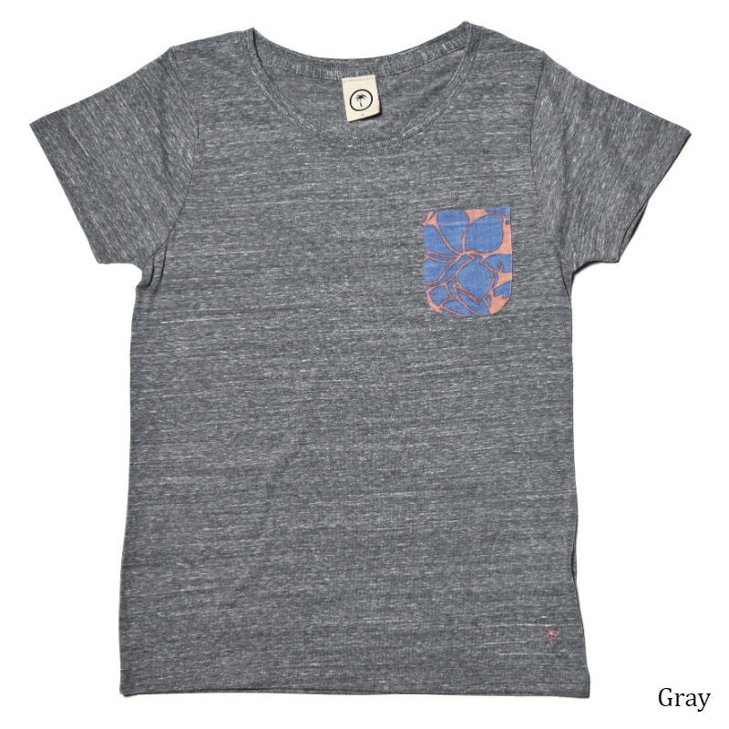 レディース Tシャツ (女性用)「Ladys Pocket T-shirts 」全5色 半袖 XL 大きいサイズあり