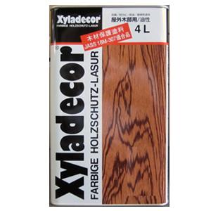 木材保護塗料キシラデコール107マホガニ4L
