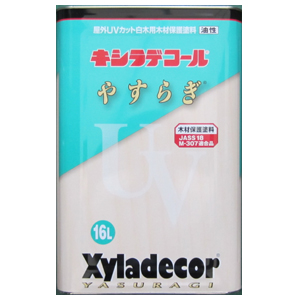 木材保護塗料キシラデコール白木用やすらぎ16L