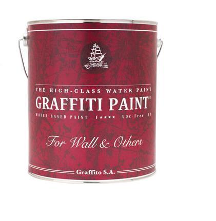 グラフィティーペイント ウォール&アザーズ 全35色 ツヤけし 4L(約22平米分) ビビッドヴァン 水性 VOCフリー GRAFFITI PAINT Wall&Othiers