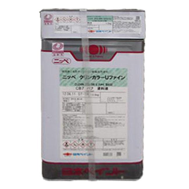 エントリーP10倍★20日25日30日限定★クリンカラーUファイン 調色品(赤系) ツヤあり 15kgセット(約39~57平米分) 日本ペイント ニッペ 油性 屋内外床用