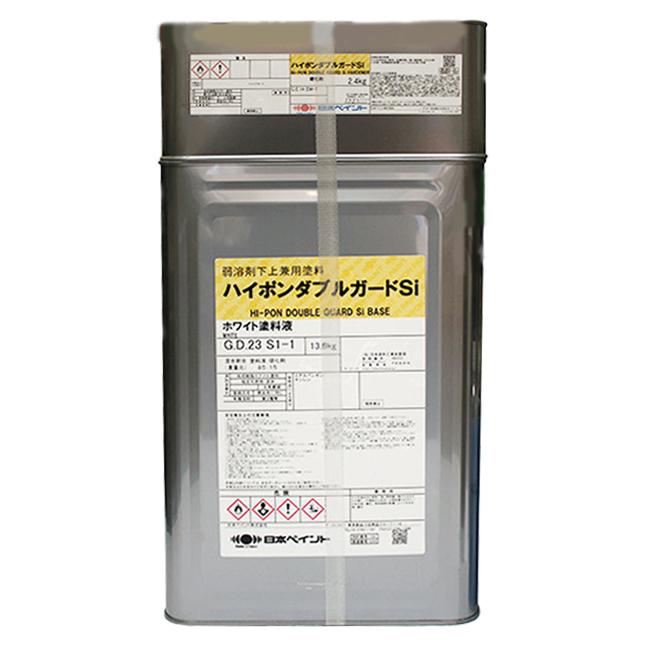 【レビューで300円CP!】ハイポンダブルガードSi ホワイト 16kg 塗料販売