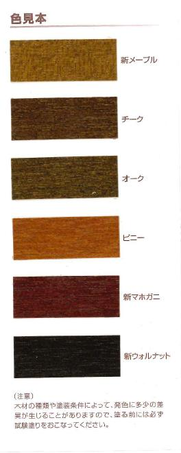【レビューで300円CP!】ソルコロ2 新ウォルナット(全4色) 16L(約120~140平米分) 関西ペイント 油性 木部用 着色剤