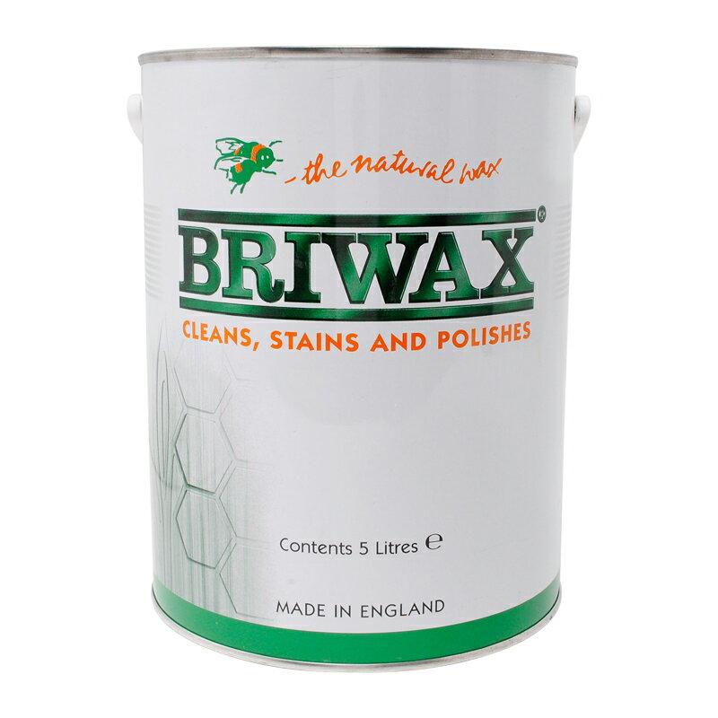 【 即日発送 】ブライワックス 5L(約50平米分) 全14色 送料無料 BRIWAX 塗装手引き付き! 屋内木部用ワックス
