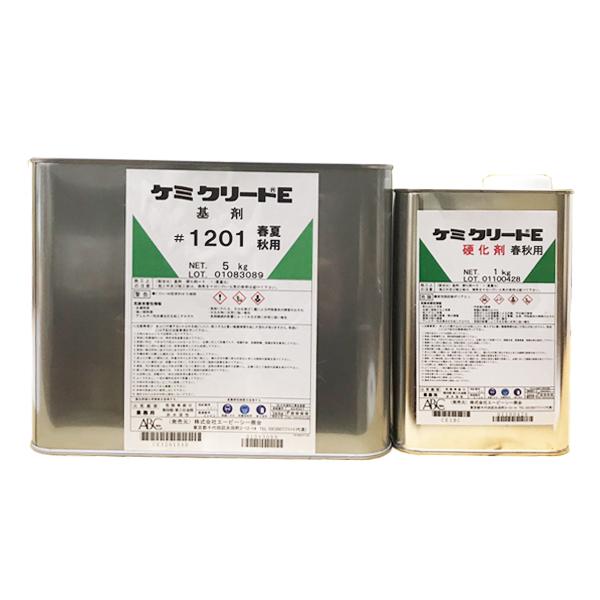ケミクリートE 6kgセット ABC商会 エポキシ樹脂系塗り床材 厚膜型 屋内