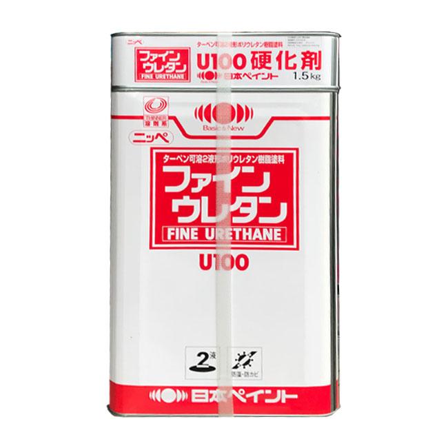 【レビューで300円CP!】ファインウレタンU100艶有り常備色 15kgセット 塗料販売