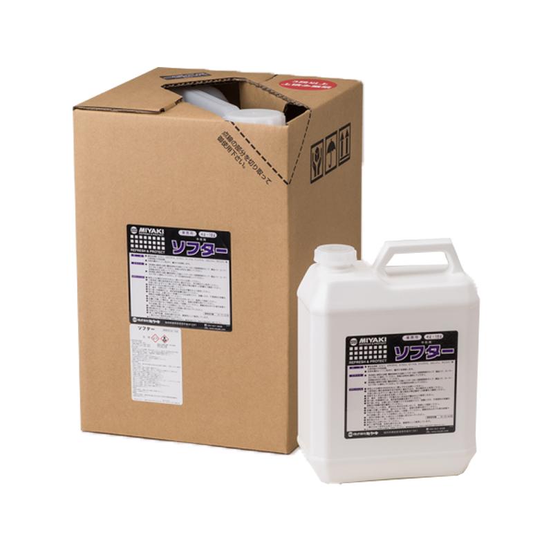 ソフター 18L 酸性洗浄剤用中和剤(アルカリ性) 塗料販売