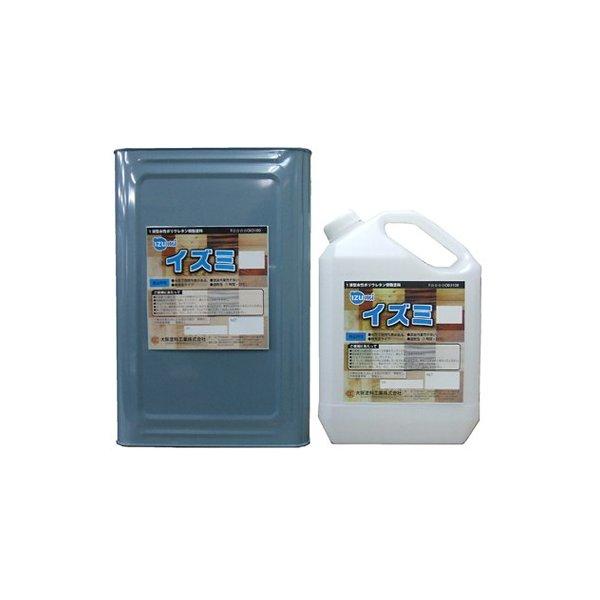 イズミ ツヤ選択可能 16kg(約80~100平米分) 大阪塗料工業 水性 木部用 1液 無黄変