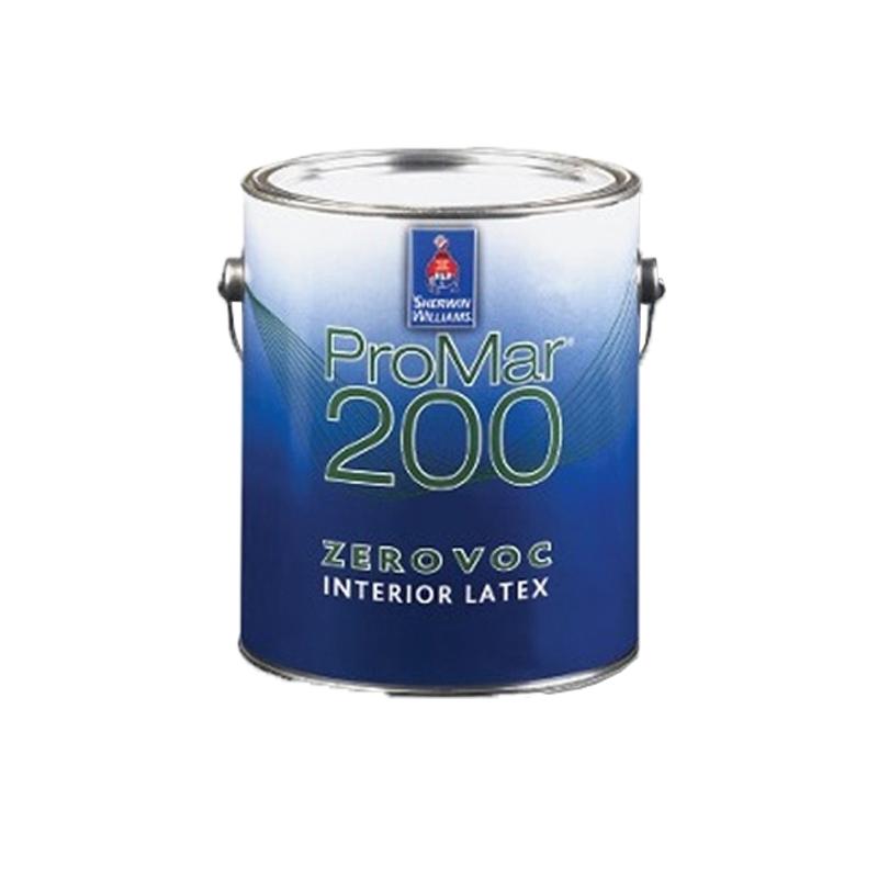 【レビューで300円CP!】プロマー200 ゼロVOC 極濃色(Ultradeep・Realred・Bright Yellowベース用) 3.8L(約20平米分) フラット(ツヤけし) シャーウィン・ウィリアムズ 水性 屋内用 壁紙へ直接塗れる水性ペイント