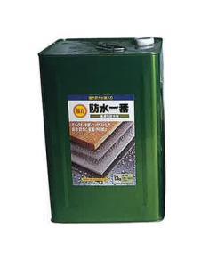 【レビューで300円CP!】強力防水一番 13kg(約120~140平米分) 日本特殊塗料 溶剤 浸透性 防水材