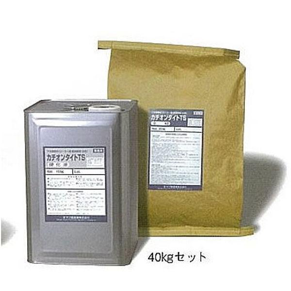 【送料無料】カチオンタイト TS (ローラー用耐溶剤型) 40kgセット(ヤブ原産業/下地調整材)
