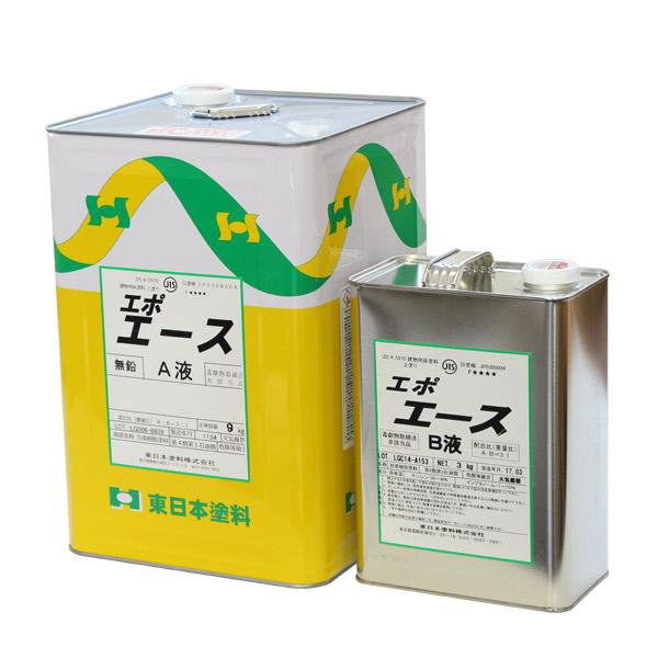 【送料無料】エポエース 常備色 12kgセット (2液エポキシ樹脂床用塗料/東日本塗料)