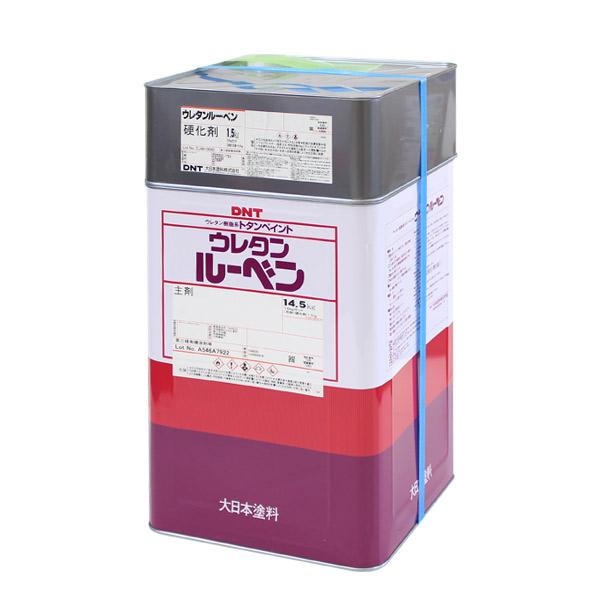 ウレタンルーベン サワーグレー 16kgセット (大日本塗料/トタンペイント/油性)