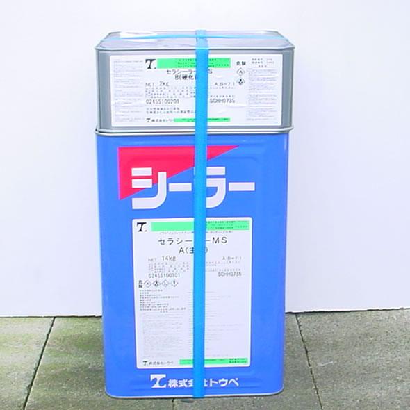 セラシーラーMS 16kgセット(油性/2液弱溶剤形特殊エポキシシーラー/トウペ)
