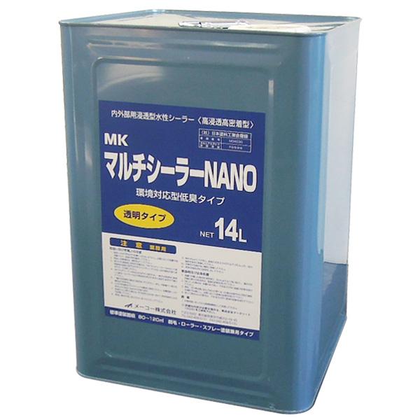 MKマルチシーラーNANO 14L(メーコー/下塗り/水性)