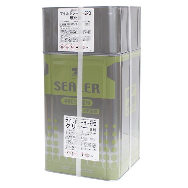 マイルドシーラーEPO クリヤー 14kgセット(エスケー化研/弱溶剤形エポキシシーラー)