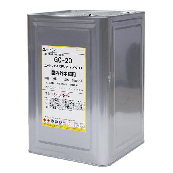 【送料無料】ユートンエクステリア ハイグロス(ツヤあり) 16L (玄々化学工業/ウレタン樹脂/油性ニス)