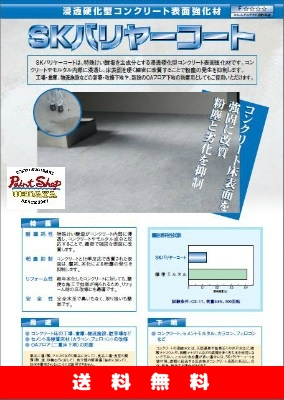 【送料無料】SKバリヤーコート 18Kg ≪エスケー化研≫