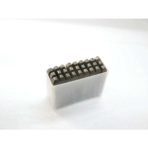 TRUSCO 逆英字刻印セット 2.5mm(SKC25)